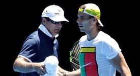 Contra o Real Madrid, o Manchester City será motivado por Toni Nadal. EFE/EPA