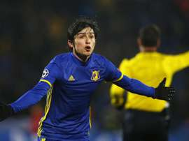 Liverpool move would have been wrong, says Rostov star Azmoun. EFE