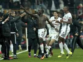Officiel : Vincent Aboubakar retourne au Besiktas. efe
