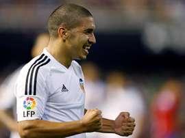 Valencia loan Bakkali to Deportivo. EFE