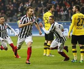 El cuadro alemán sufre la baja de uno de sus centrocampistas. EFE