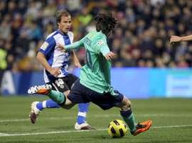 Buigues cree que hacer un buen partido ante el Barça les puede venir bien moralmente al equipo. EFE