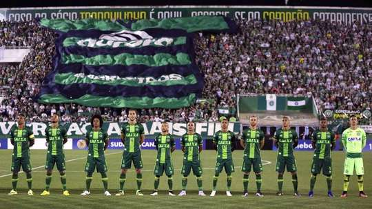 Chapecoense lost the majority of their team in the recent air disaster in Colombia. EFE