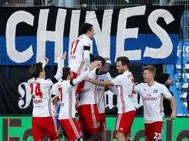 El Hamburgo continúa en el descenso. EFE