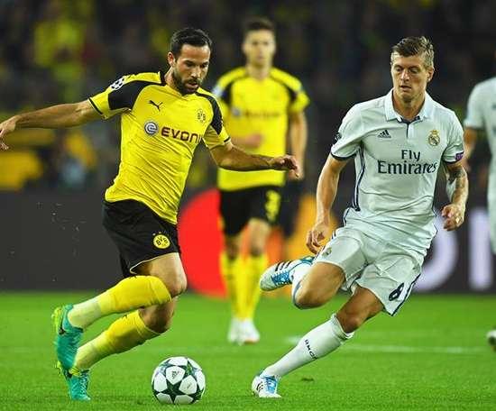Gonzalo Castro pourrait quitter le Borussia Dortmund. EFE