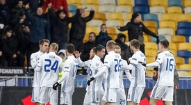 El Dinamo de Kiev certificó su billete. EFE