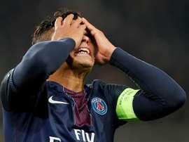 Thiago Silva es uno de los mejores centrales del momento. EFE