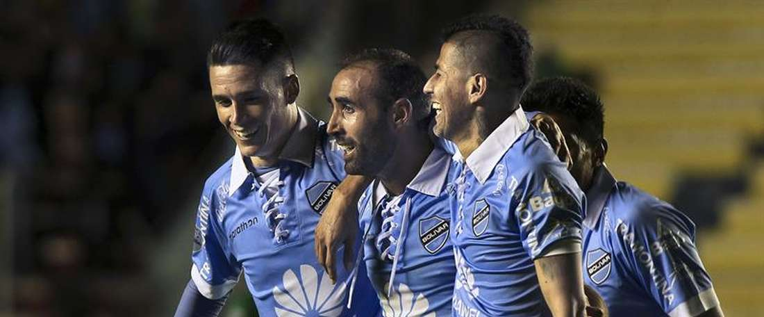 Jose Capdevila milita en el Sport Boys Warners de Bolivia. EFE