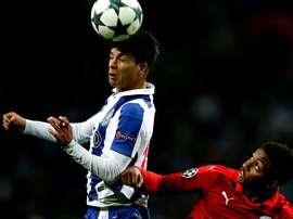 Porto virou o jogo em cinco minutos. EFE