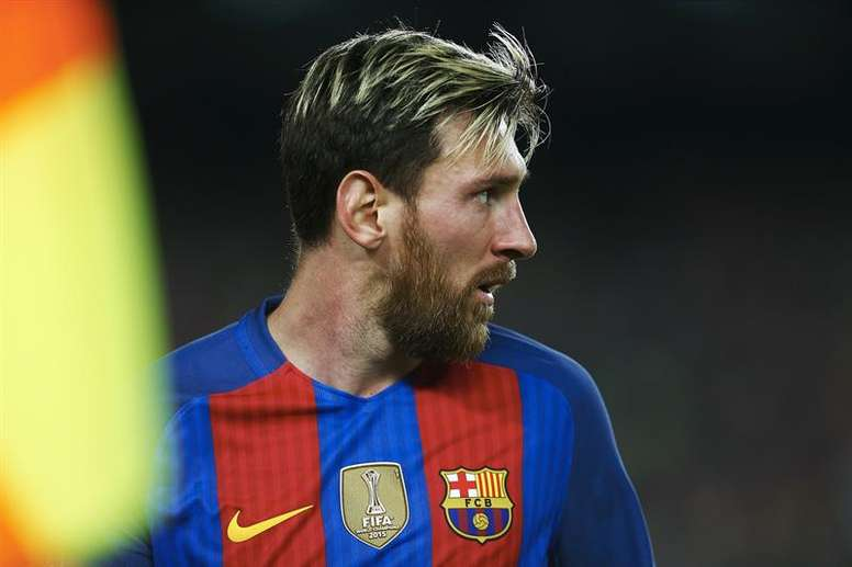 Good news for Messi and his family  EFE/Archivo