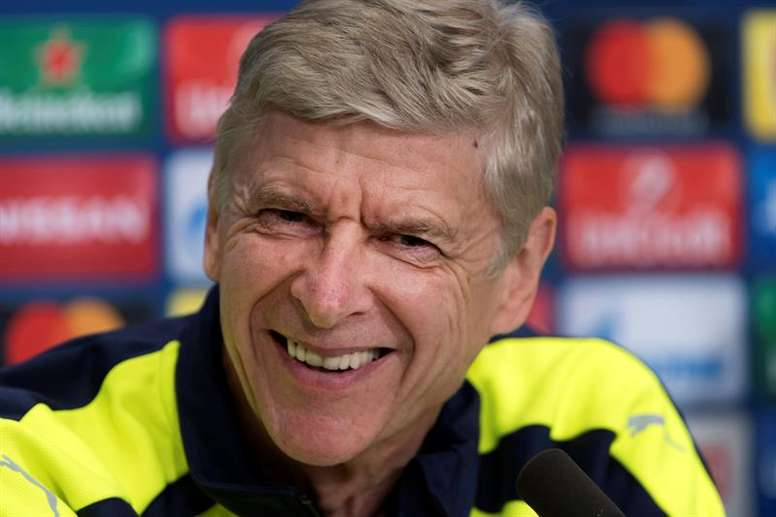 Wenger wants his men to focus. AFP