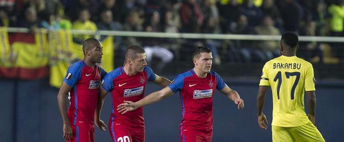 Nuevo refuerzo para el Steaua. EFE