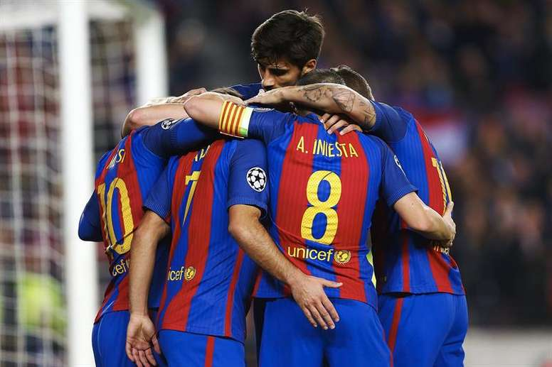 El Barcelona ya conoce su rival para los octavos de final de la Champions League. EFE/Archivo