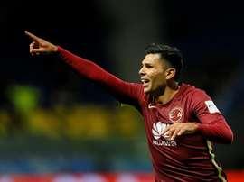 Silvio Romero está más cerca que nunca de Independiente. EFE/Archivo