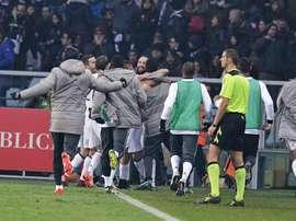 La Juventus podría vender a una de sus jóvenes promesas. EFE