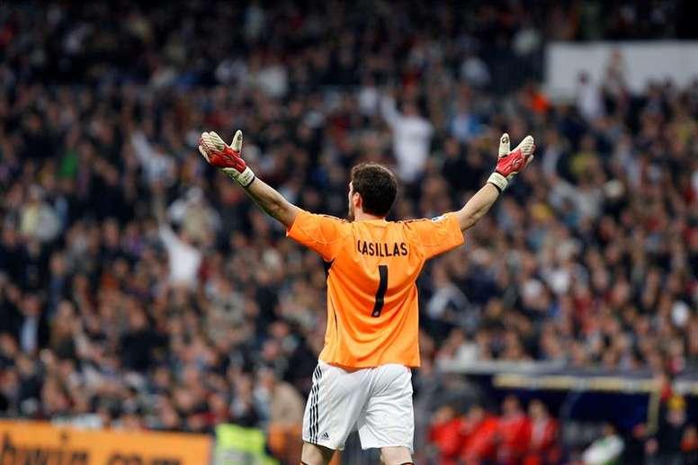 Casillas recordó cómo fue su salida del Madrid. EFE