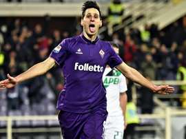 Welcome to AC Milan - Kalinic's arrival confirmed. EFE