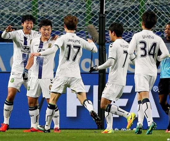 El TAs rechazó la petición del club coreano. EFE