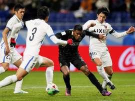 Kashima Antlers consegue o passe à final do Mundial de Clubes. EFE