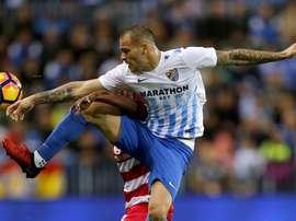 Sandro de retour en Espagne. EFE
