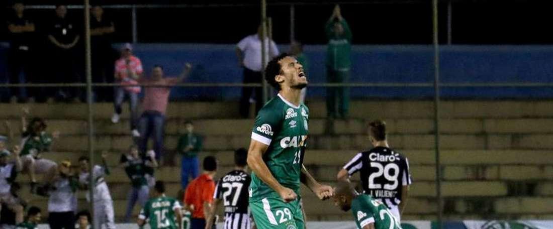 Chapecoense continua a reforçar sua equipe. EFE/Archivo