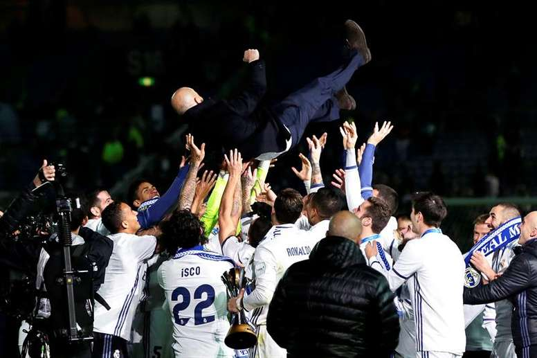 Real Madrid won the competition last year. EFE/EPA