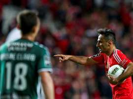 Em causa estavam lances do jogo com o FC Porto. EFE