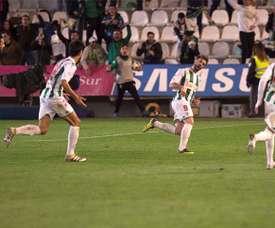 El Códoba se enfrenta al Málaga en Copa del Rey. EFE