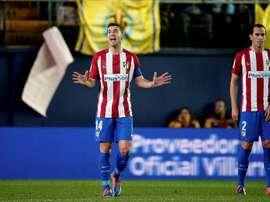 Capitão do Atlético de Madrid nunca representou 'La Roja'. EFE