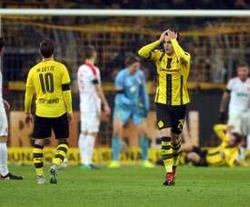 El Borussia Dortmund empató en su feudo en la Bundesliga. AFP