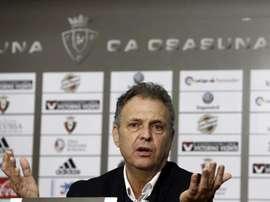 Caparrós ya ha elegido a los convocados para el choque contra el Granada. EFE/Archivo