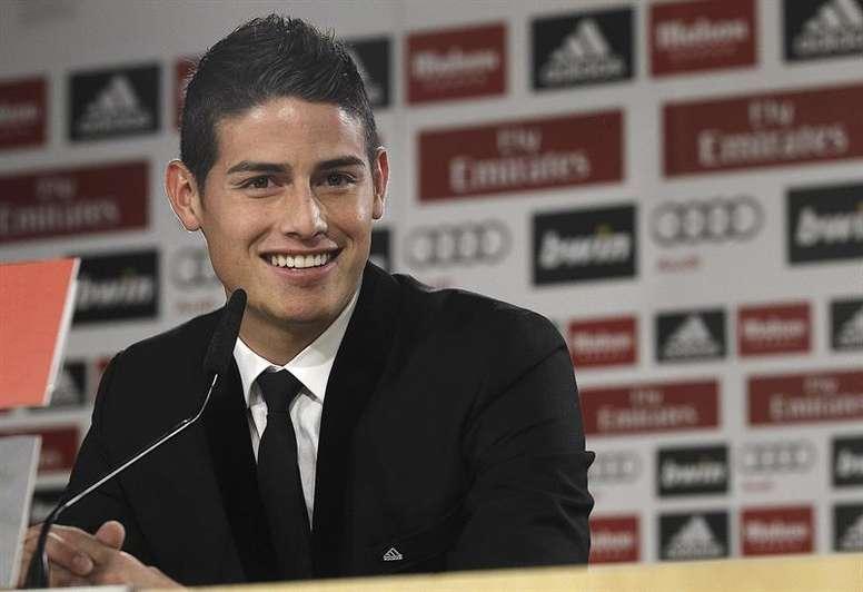 James vuelve a empezar en el Madrid. EFE