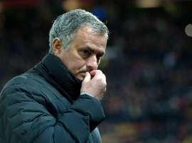 Jos Mourinho has made his decision. EFE/Archivo