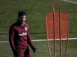Maxi Rodríguez pensa que o 'Cholo' é um grande treinador. EFE