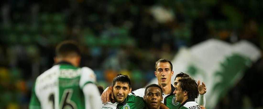 El Sporting dio salida a tres de sus piezas. EFE