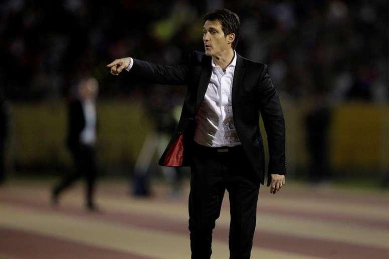 Gago es el capitán indiscutible de Boca Juniors. EFE/Archivo