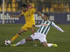 El lateral analizó el próximo partido de su equipo. EFE