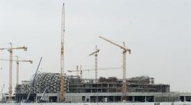 La construcción de Lusail terminará en 2020. EFE