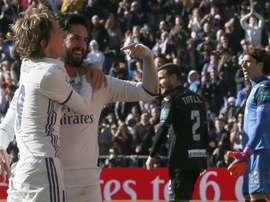 Modric e Isco estão na mira do Inter. EFE
