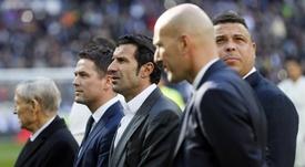 Ronaldo, Figo y Zidane fueron testigos directos del 'caso Centeno'. EFE