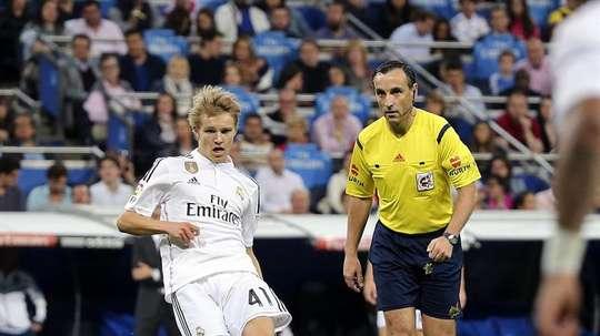 Odegaard est visiblement sur le départ du Bernabéu. EFE