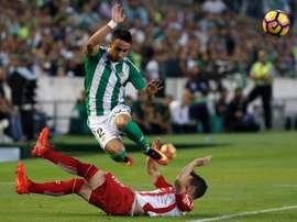 Rafa Navarro n'est plus au Betis. EFE