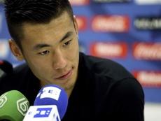 Zhang Chengdong ha protagonizado el traspaso más caro pagado por un futbolista chino. EFE/Archivo