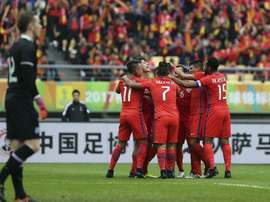 Chile venció a Islandia con un solitario gol de Sagal. EFE