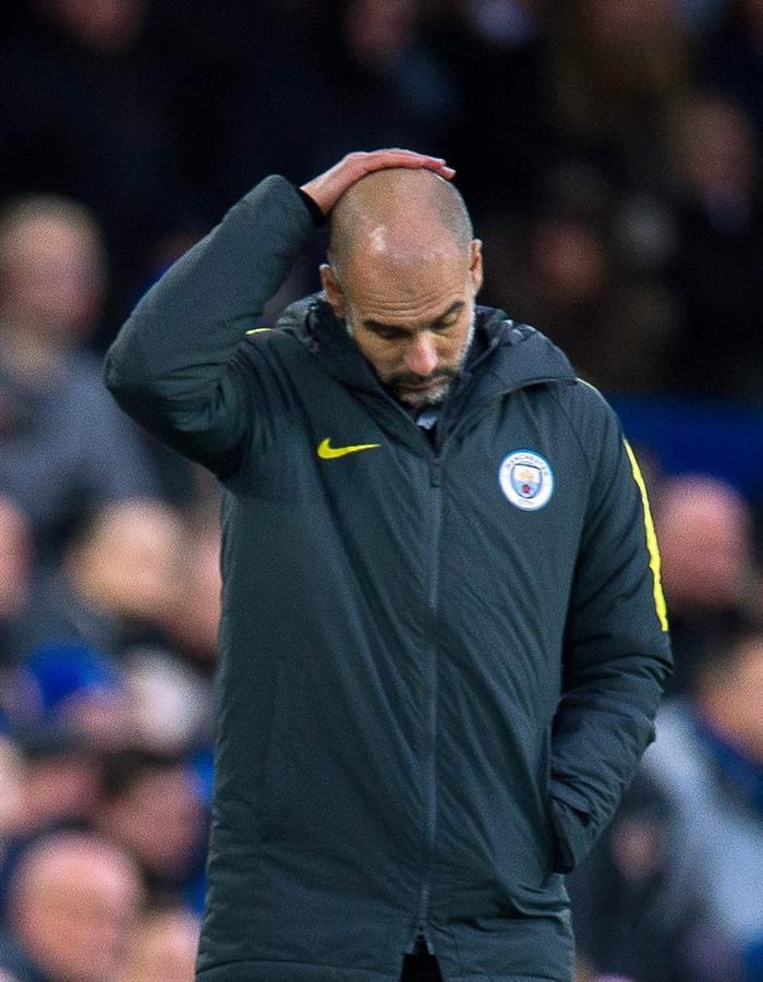Kolarov backed struggling manager Pep Guardiola. AFP