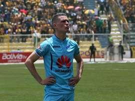 En la imagen, el delantero español Juan Miguel Callejón. EFE/Archivo