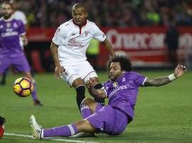Adversários em Espanha, Mariano vai agora ser colega de Marcelo na seleção brasileira. EFE