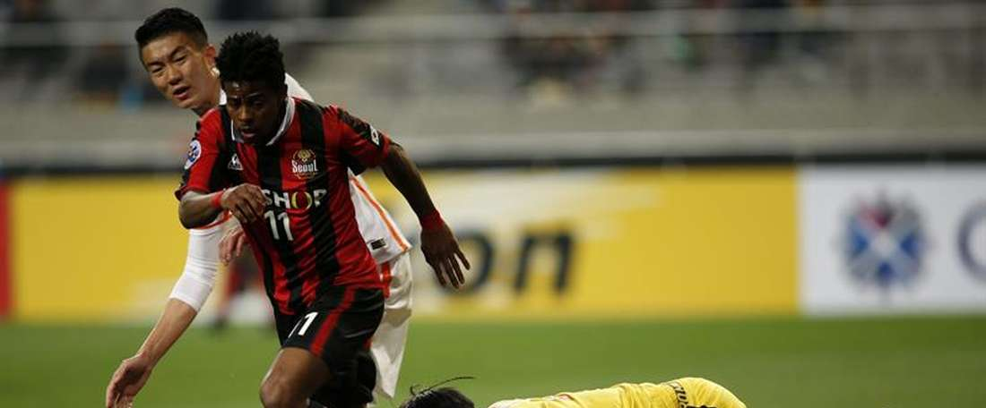 El brasileño Carlos Adriano se incorpora al Shijiazhuang. EFE/Archivo