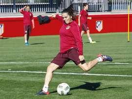 Andrea Pereira se muestra optimista de cara al Mundial. EFE