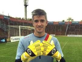 Xabi Pascual es el único profesional español que juega al fútbol en Argentina. EFE